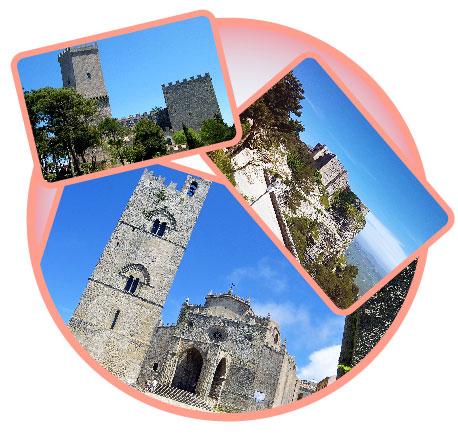 Erice: la città medievale