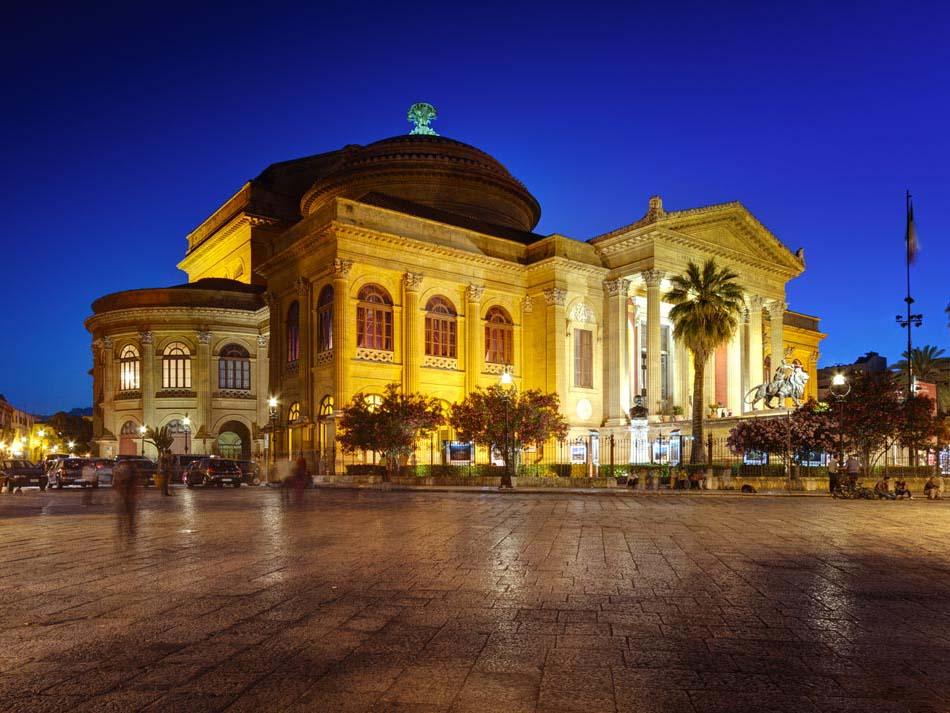 The Massimo theatre